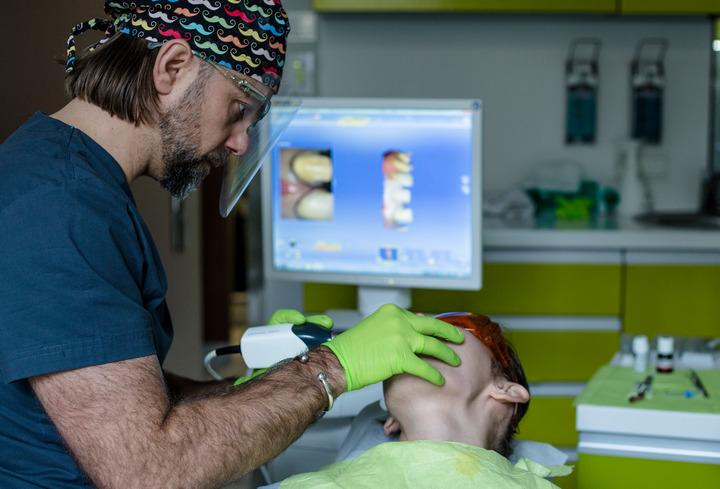 skanera 3d w ortodoncji